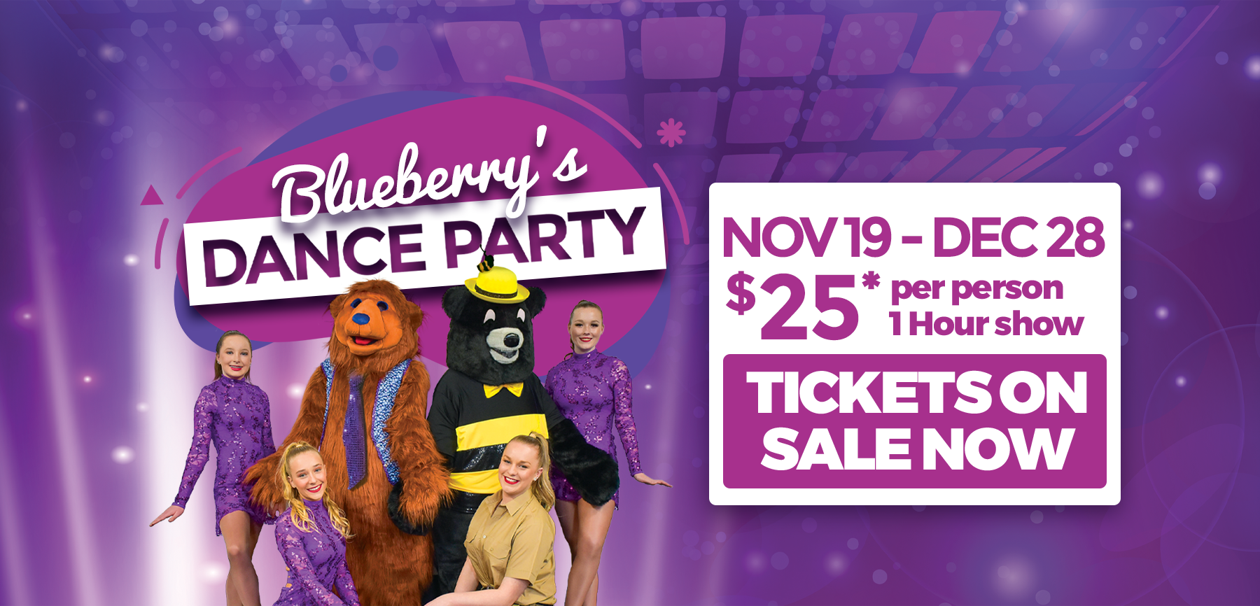 Blueberry's Dance Party - Tickets on sale now